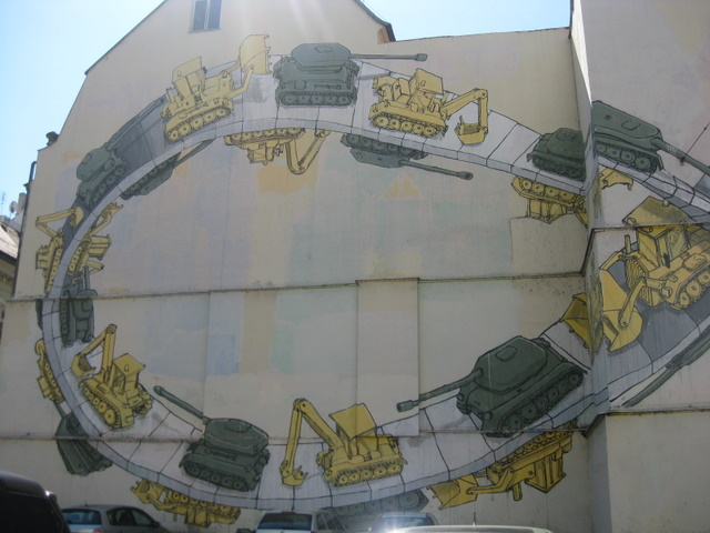 infinity-mural